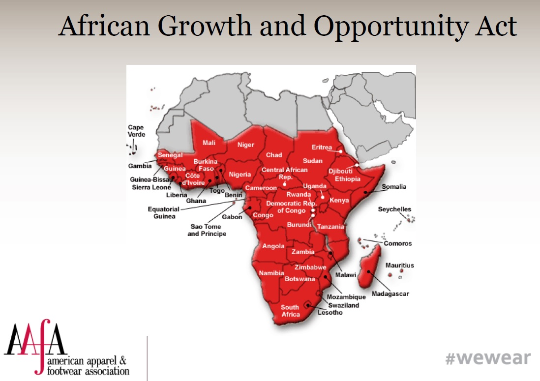 Image result for African Growth and Opportunity Act (AGOA)