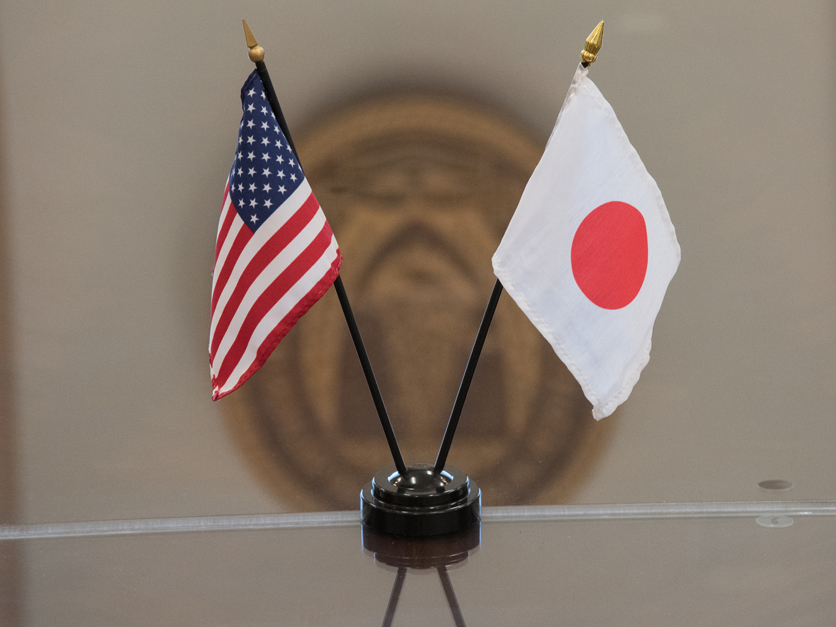 US_Japan_flags